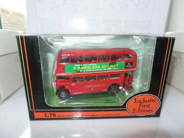EFE 10128B AEC SRT London Transport Ramblers Holidays St Albans Code 2 Bus MIMB
